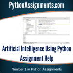 Artificial Intelligence Using Python