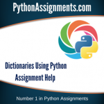 Dictionaries using Python