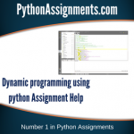Dynamic Programming Using Python