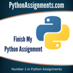 Finish My Python Assignment