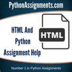 HTML And Python