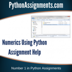 Numerics using Python