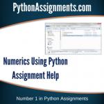 Numerics using Python