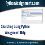 Searching Using Python
