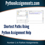 Shortest Paths Using Python