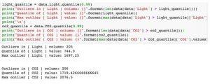Occupancy dataset