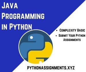 Java Programming in Python