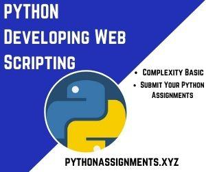 PYTHON Developing Web Scripting