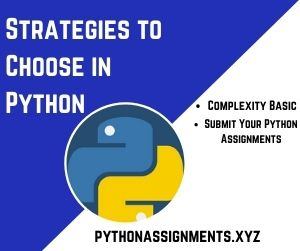 Strategies to Choose in Python